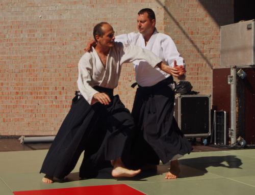 Aikido bemutató a Szeptemberi Kóstolón